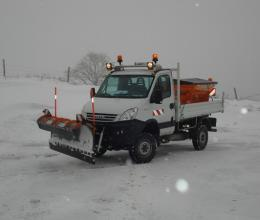 Ensemble de déneigement 4x4 LAND ROVER 2012